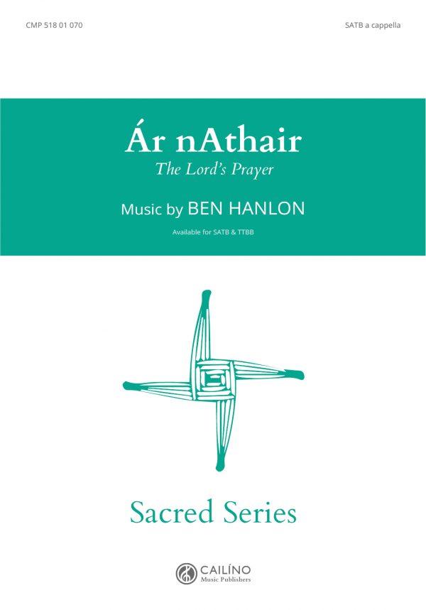 Ar nAthair SATB Score Cover