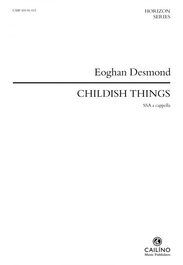 Childish Things Score Cover