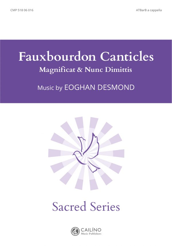 Fauxbourdon Canticles Cover