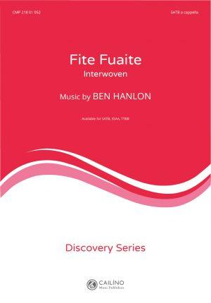 Fite Fuaite SATB Score Cover