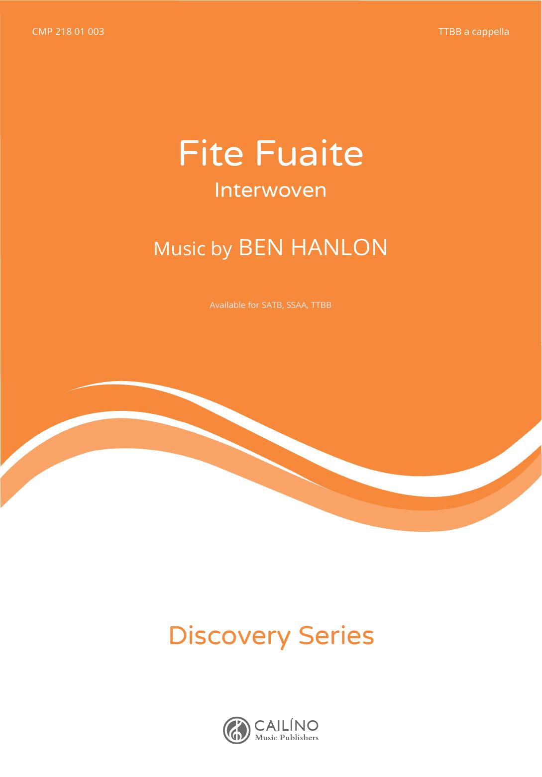 Fite Fuaite TTBB Score Cover