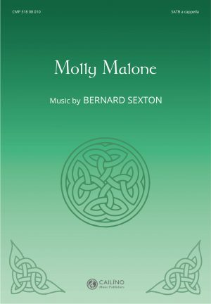 Molly Malone SATB Score Cover
