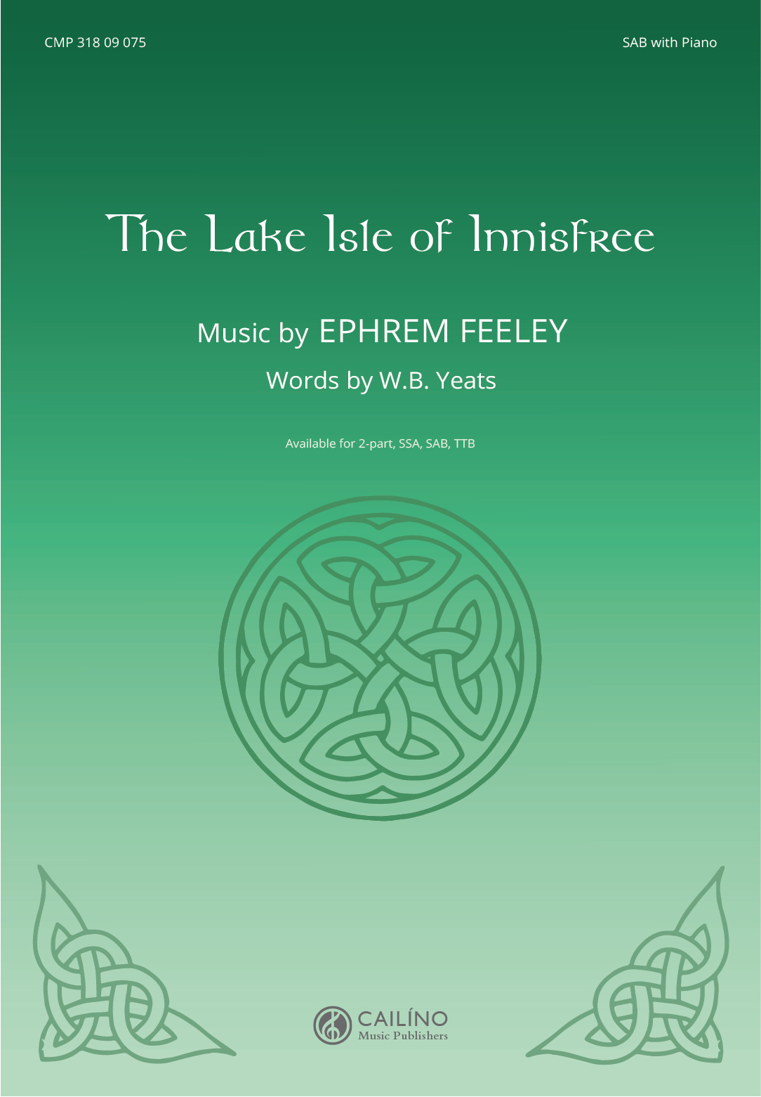 The Lake Isle of Innisfree SAB Score Cover